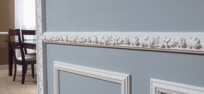 Decorative door moulding