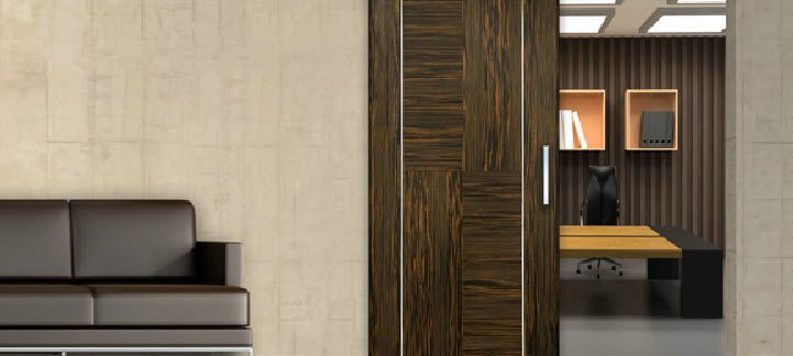 wooden sliding doors