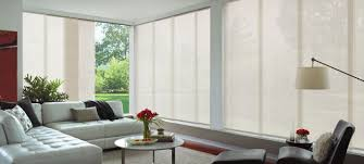 custom made panel blinds