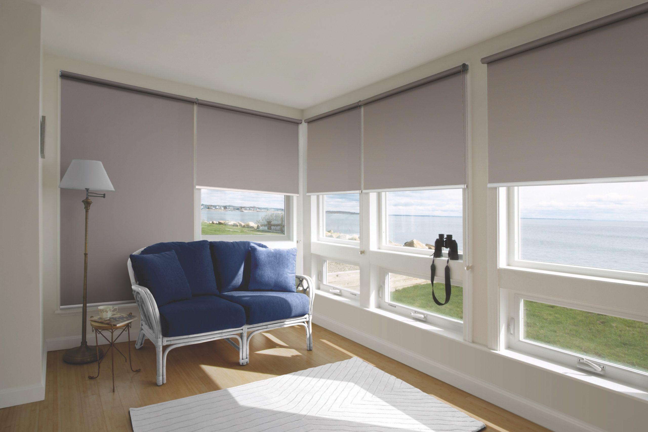 Custom made roller blinds
