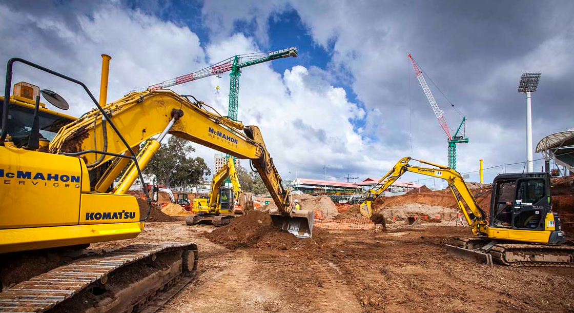 civil works contractors in NSW